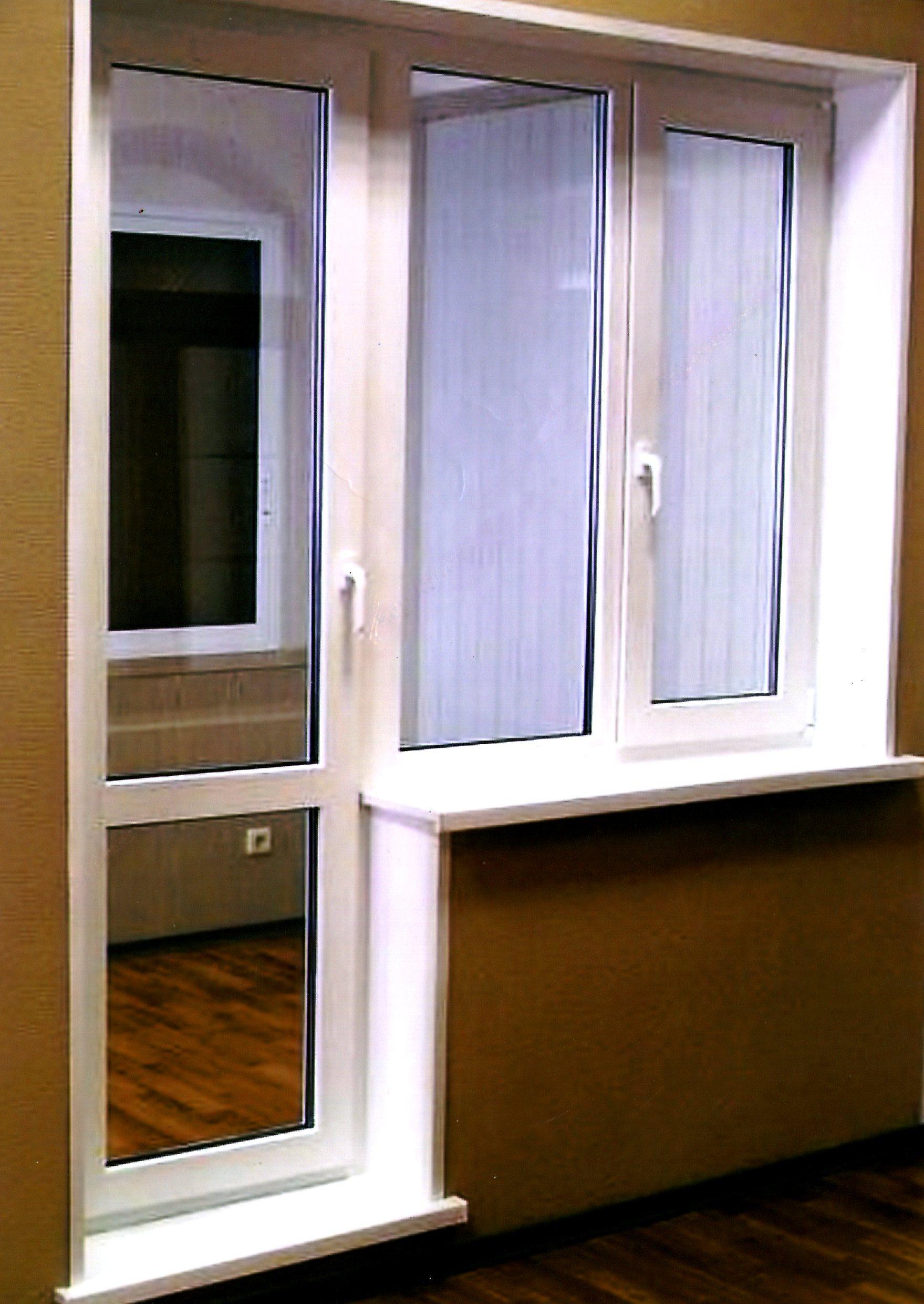 Балконные двери стар - красный ткач - уралокно.